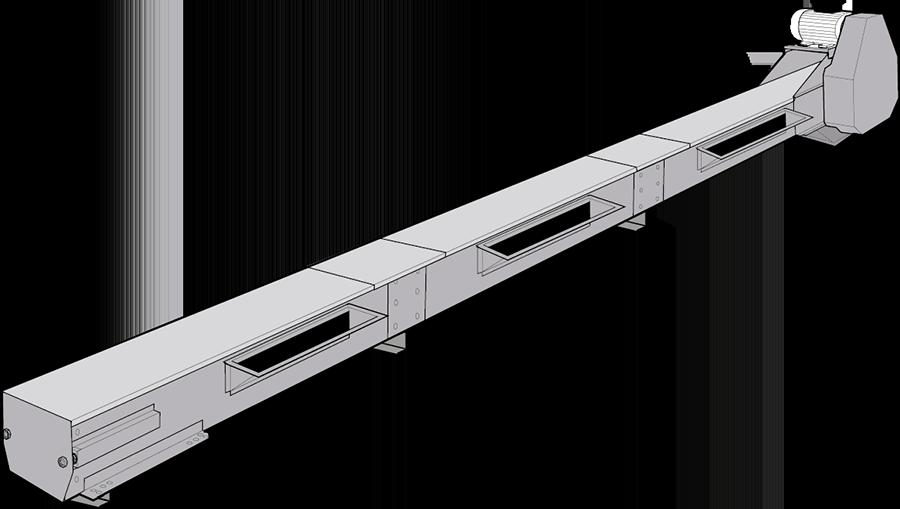 Conveyors for grain in galvanised steel – Skandia Elevator