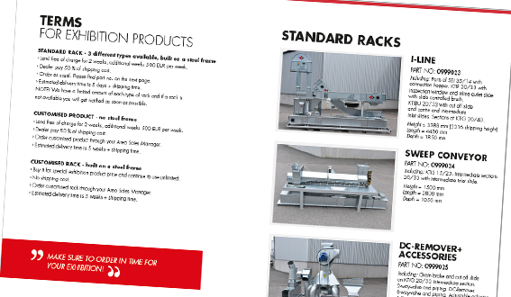 New brochure for exhibition products - Skandia Elevator